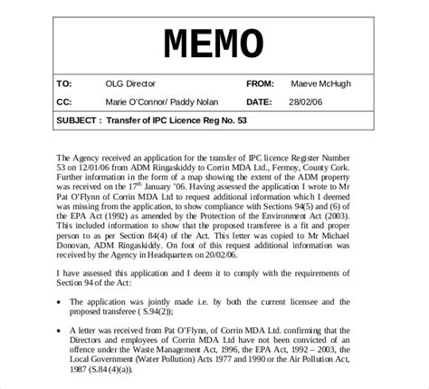 internal memo samples internal memo templates 15 free word pdf documents
