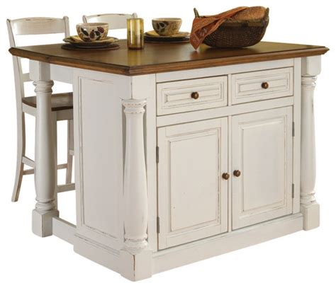 kitchen island without top does it come pre assembled