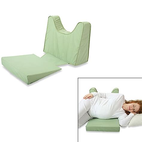 pregnancy pillow bed bath and beyond back n shape pregnancy support and feeding wedge by