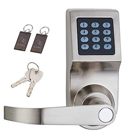 code door lock haifuan digital door lock unlock with m1 card code and