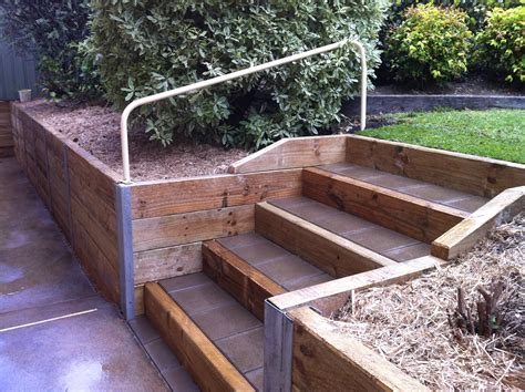 how to build a wood retaining wall timber retaining wall inspirations for garden farmhouse design and furniture