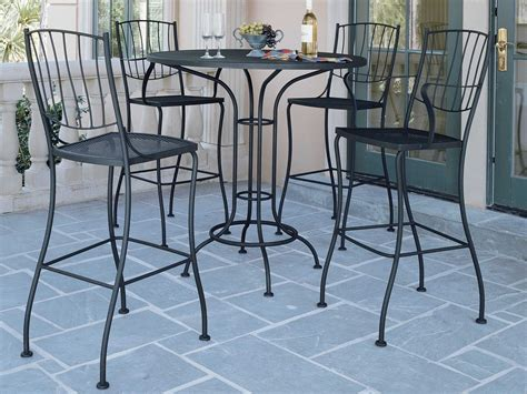woodard wrought iron bar set wrgacds