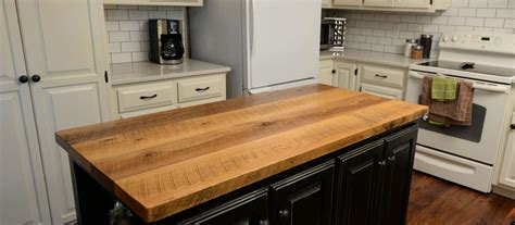 kitchen island with wood top countertops table tops and bar tops wood kitchen