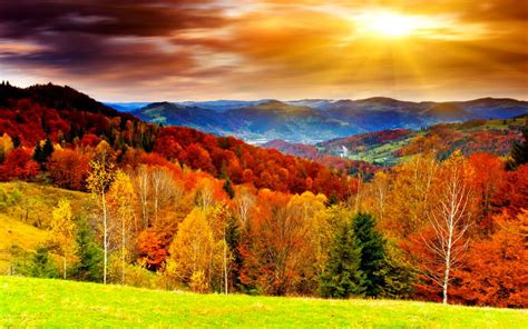 Fall Backgrounds For Desktop Computers by Pictures Autumn Scenery Desktop Wallpapers