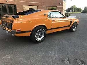 1970 Ford Mustang Fastback Boss 302 - 5 Speed - Ac