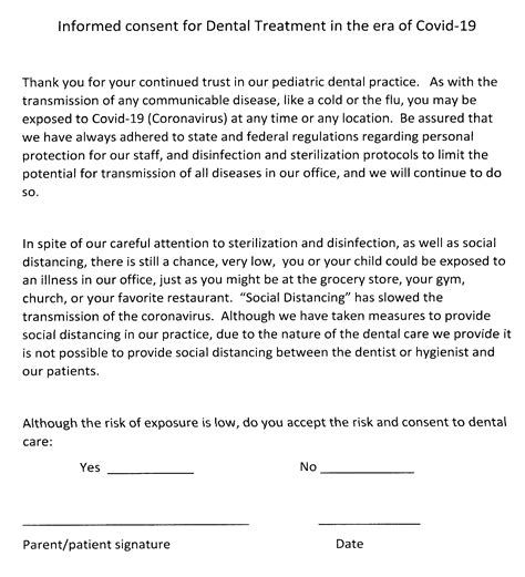 covid  informed consent form jpeg edited southmoor