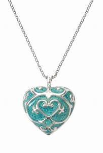 Adina Plastelina Turquoise Heart Pendant Necklace with