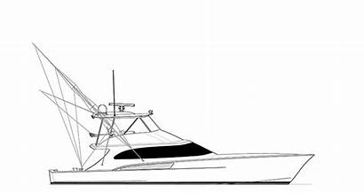 Hull Custom Yachts Sportfish Bay Carolina Project