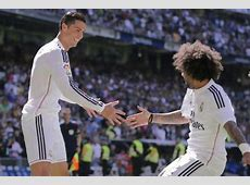 Hattrick hero Cristiano Ronaldo gives Marcelo the