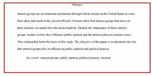 Apa Abstract Examples 6th Edition