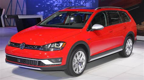 The 2017 Volkswagen Golf Alltrack For North America