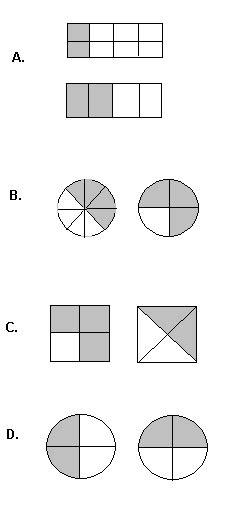 solutions  explanations  grade  questions  fractions