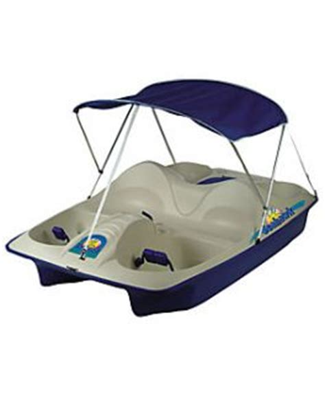 Pedal Boat At Tractor Supply by New Pelican 4 Person Pedal Boat Paddle Boat W Canopy On