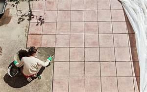 comment poser du carrelage exterieur en terrasse With comment poser carrelage exterieur