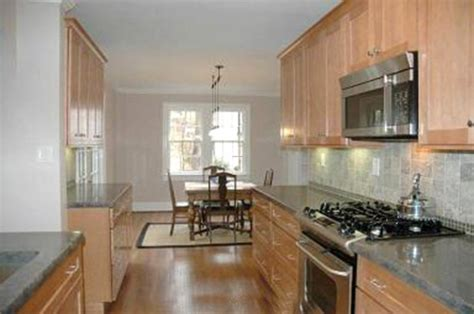 galley kitchen ideas makeovers opening up a galley kitchen part 4 home remodeling
