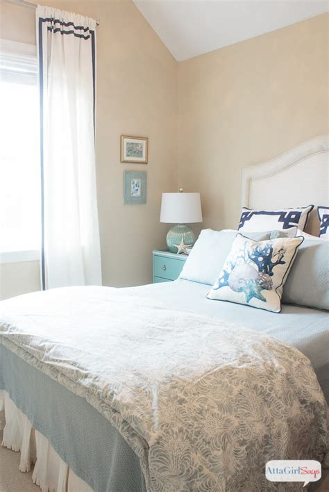 guest bedroom ideas sophisticated coastal decor in the guest bedroom atta Coastal