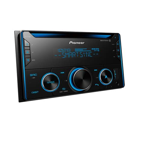 Pioneer FH-S520BT Double DIN CD and Bluetooth Receiver and ...