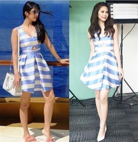 janella salvador dress fashion pulis who wore it better maxene magalona vs