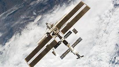Iss Space Station International Flying Earth Clouds