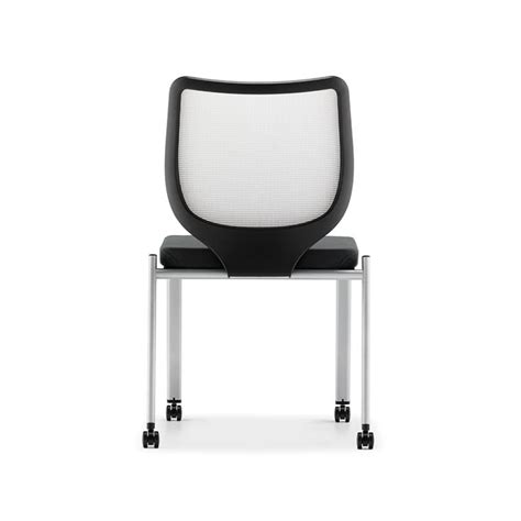 hon nucleus guest chair with no arms