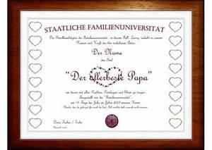 Geschenk Für Vater Der Schon Alles Hat : bester vater diplom das ganz besondere einmalige geschenk zum vatertag ebay ~ Yasmunasinghe.com Haus und Dekorationen