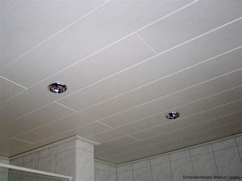 Decke Im Badezimmer  Schreiner In Sinzig