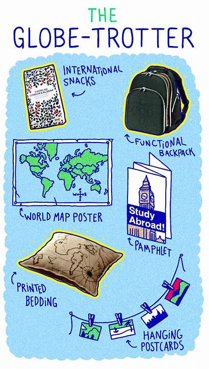 College Starter Student Pack Globe Packs Every