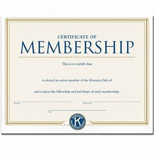 membership certificate templates word excel samples With new member certificate template