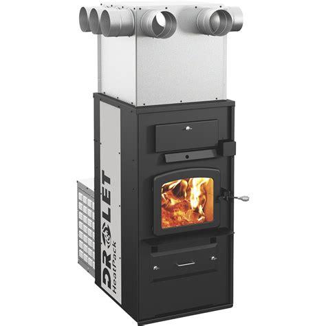fireplace furnace drolet heatpack add on wood furnace 198 000 btu epa