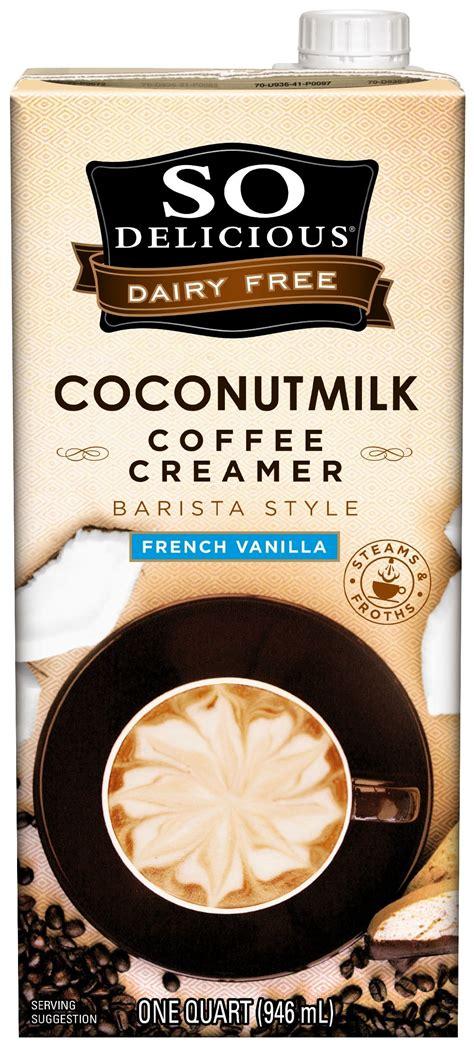 Amazon.com : So Delicious Dairy-Free Coconutmilk Creamer