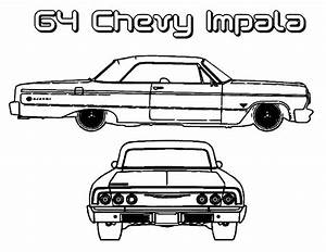 64 chevy impala old car coloring page wiring diagram and With gm wiring colours
