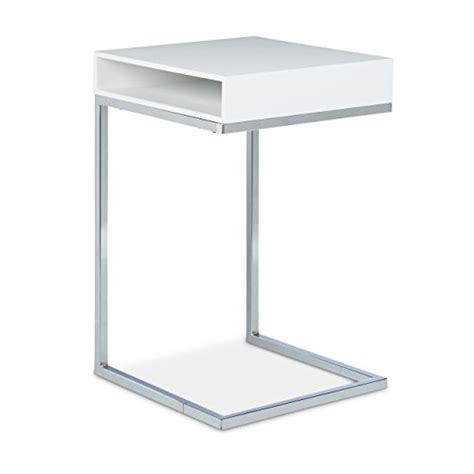 table pour canap relaxdays table basse hxlxp 61 x 37 x 38 cm table console