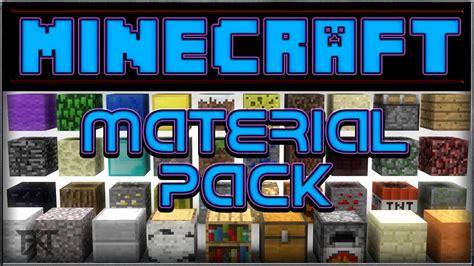 Minecraft Material Pack (default Textures