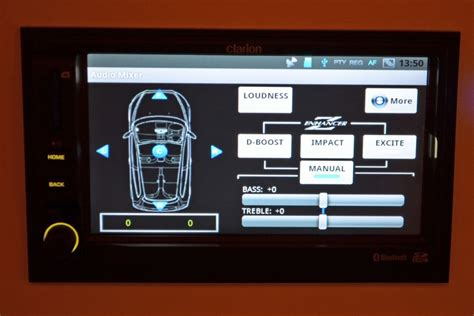 android car stereo clarion unveils the mirage a 6 5 inch android powered car