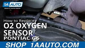 How To Replace O2 Oxygen Sensor 06