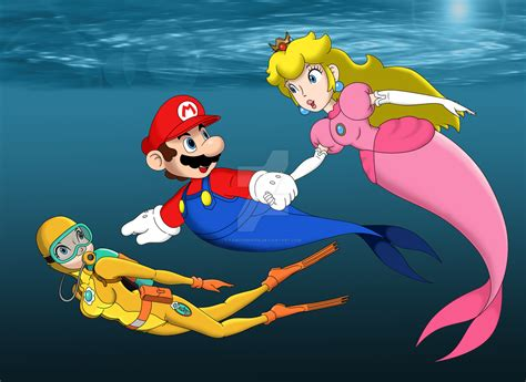Swimming All Together By Famousmari5 On Deviantart