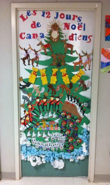 christmas door decoration for six graders with math manipulatives door decorating mme tiemessen grade 4