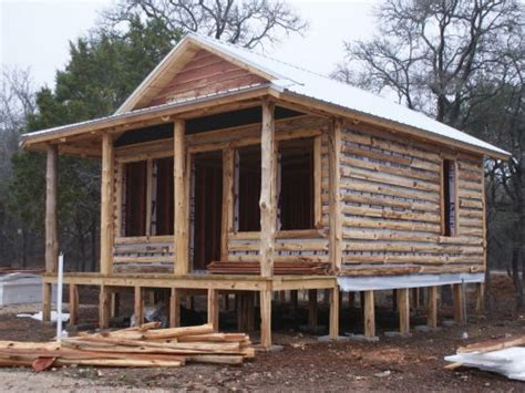 Log Cabin Building by Small Log Cabin Building Small Rustic Log Cabins Building