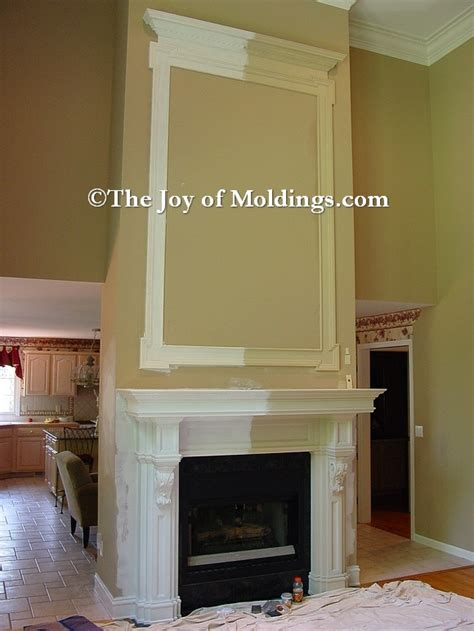 trim around fireplace molding fireplace bigeasydesign