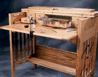 fly tying desk for sale wooden fly tying desk woodworking plans plans pdf download