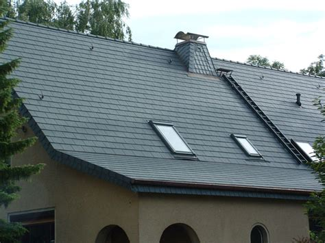 Fassadenverkleidung Schieferplatten