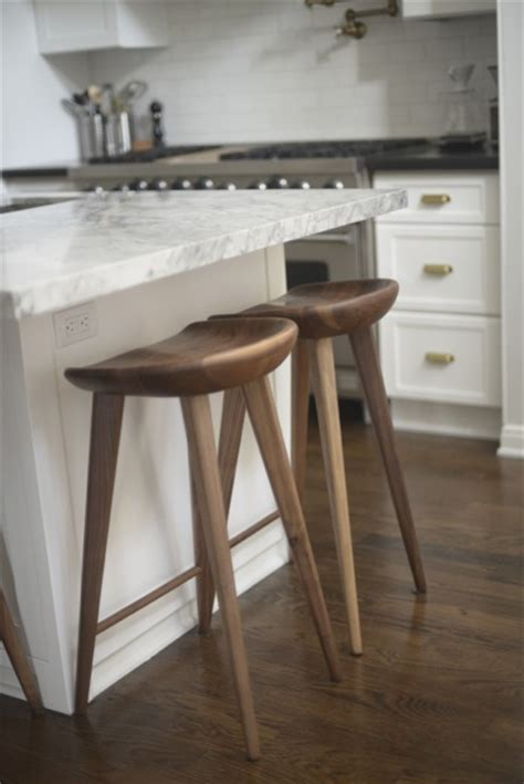 bar stool kitchen island white granite counters transitional kitchen