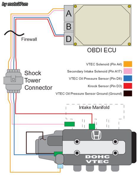 Wiring Vtec Non Prelude Honda Tech