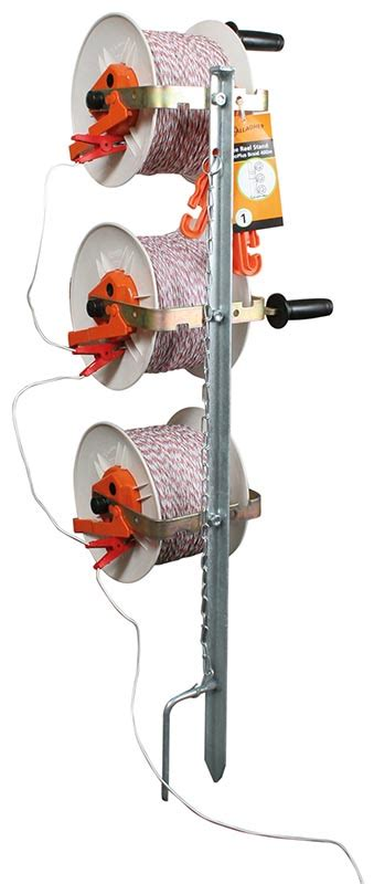 gallagher geared reel stand direct farm supplies