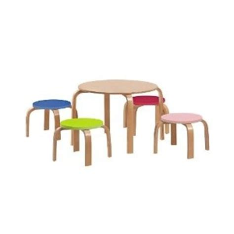 Crayola Wooden Table And Chair Set Uk by Crayola Esque Table And Chairs Modern