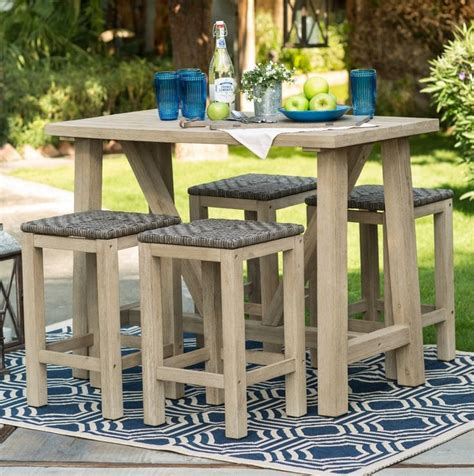 6 Person Bar Height Patio Set by 25 Best Ideas About Resin Table On Resin And