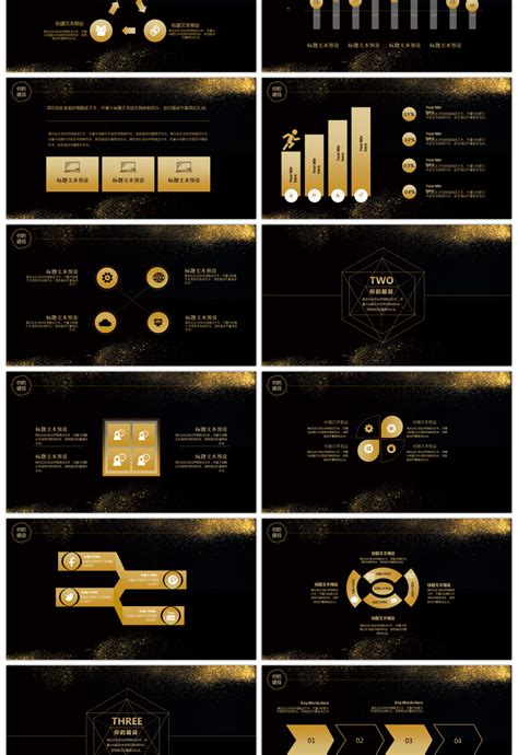 Awesome high end business black gold general dynamic
