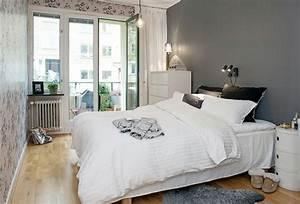 chambre scandinave e chambre scandinave chambre adulte With idee couleur mur salon 15 la deco esprit mandala joli place