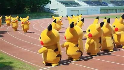 Race Relay Pikachu