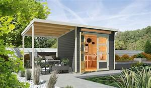 Gartenhaus Mit Flachdach : wolff flachdach gartenhaus venlo mit schleppdach ~ Frokenaadalensverden.com Haus und Dekorationen